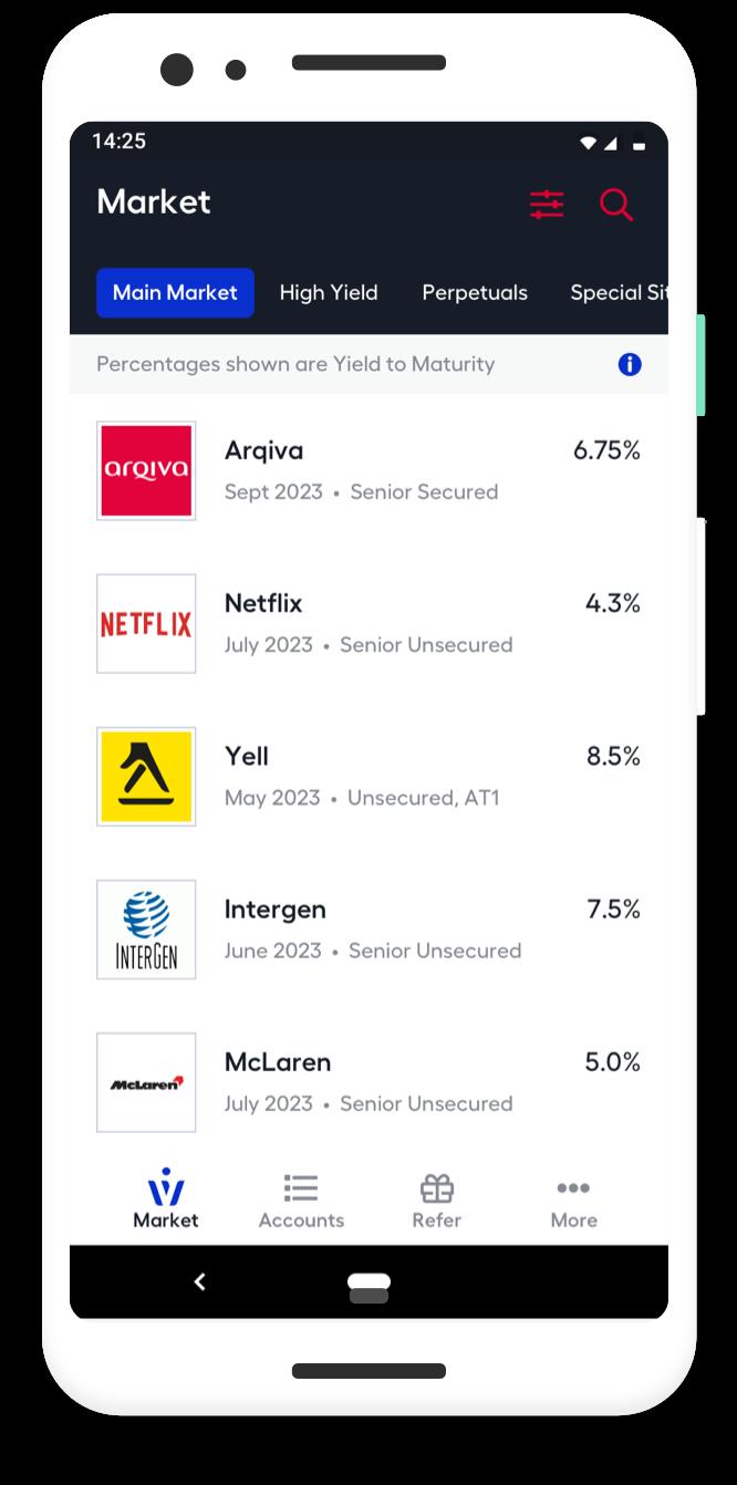 WiseAlpha application screenshot